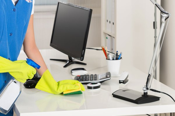 Small Office Cleaning Services More Grime Than Time