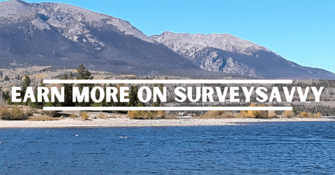 Earn more on SurveySavvy