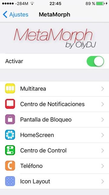 metamorph1 Cydia Tweak MetaMorph Model: 1.five-2 iOS