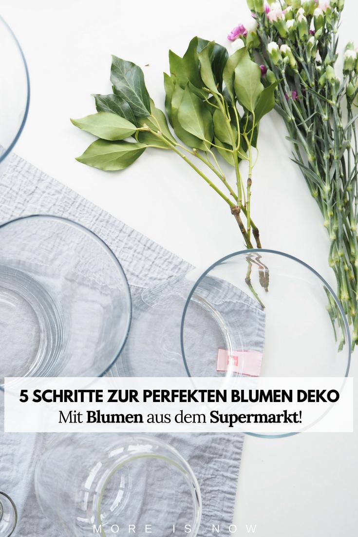 5 Schritte zur perfekten Blumen Deko