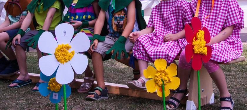 Kinder Kindergarten Abschlussfest