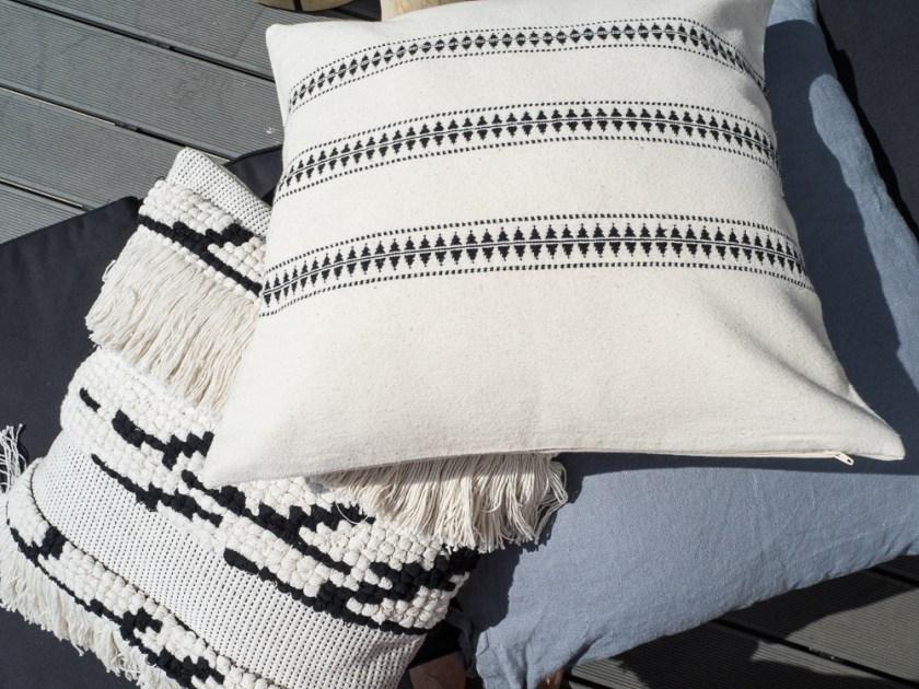 Terrassen-Gestaltung-Kissen