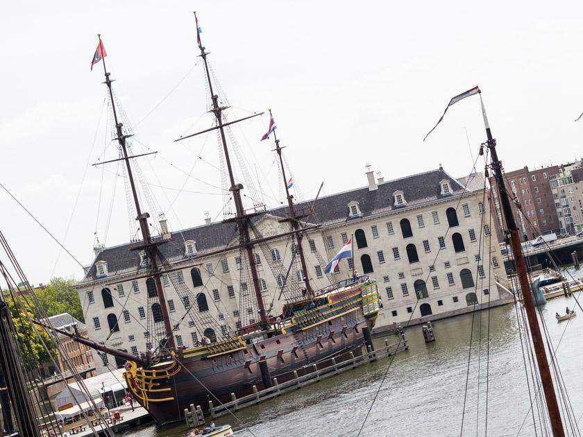 Amsterdam-mit-Kindern-Schifffahrtsmuseum
