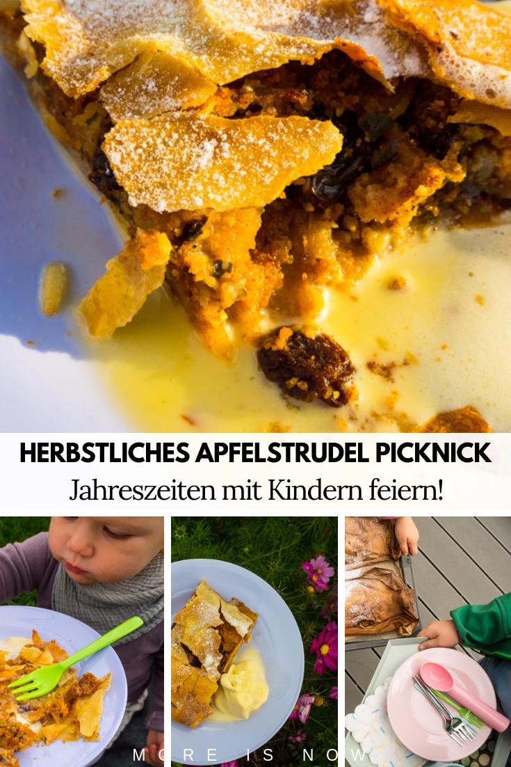 Herbst Aktivitäten mit Kindern_Apfelstrudel Picknick