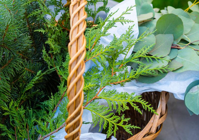 DIY Kränze binden mit Naturmaterialien Reisig
