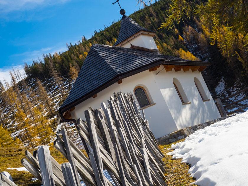 Familienurlaub am Bauernhof Almkapelle