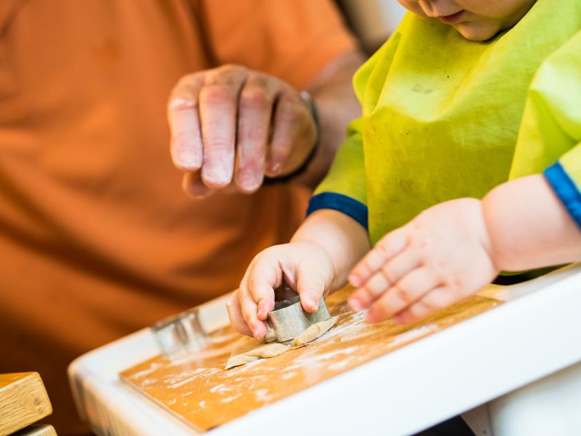 Gesunde Clean Eating Kekse - Kekse backen mit Kindern