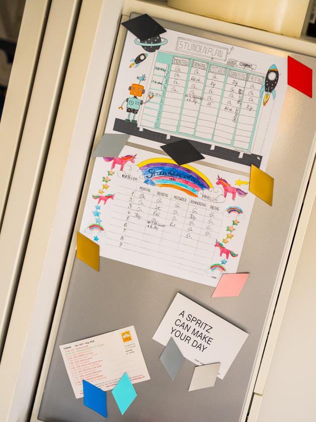 Organisiert ins neue Jahr - Magnetwand