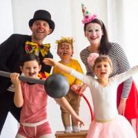 Kostüm Idee für die ganze Familie, mal einfach selber machen – Zirkus Verkleidung mit Zweitleben