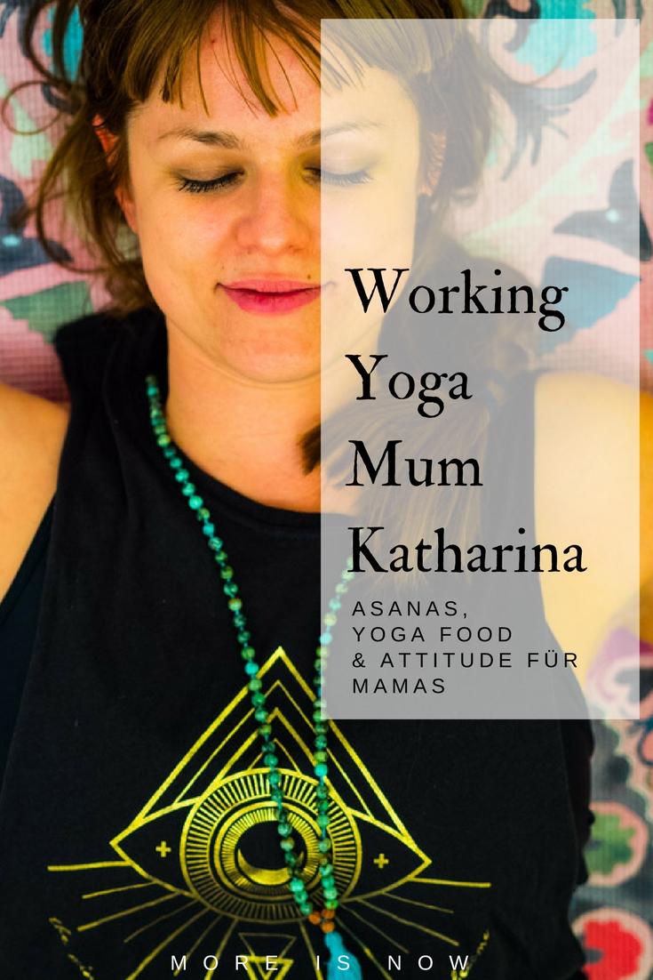 Working Yoga Mum - Katharina Wagner und ihr Yogahäuschen