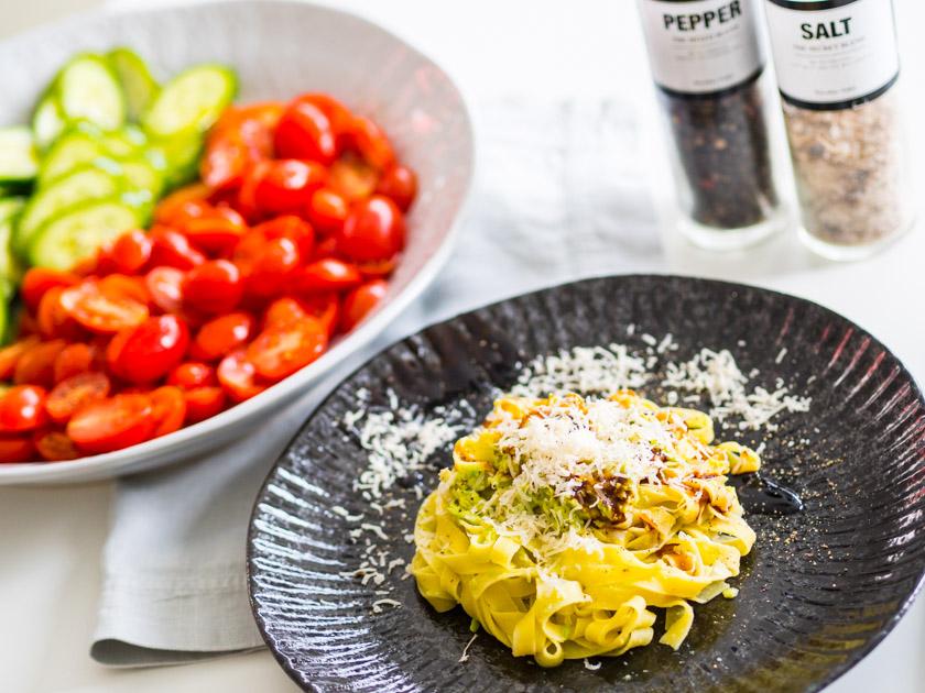 Tipps für Mamas und Kinder_Rezept Pasta mit Avocado