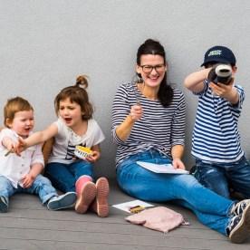 More is Now_Olivia mit ihren Kindern