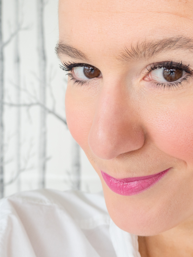 5 Minuten Mama Tages Make up_Lippenstift pink