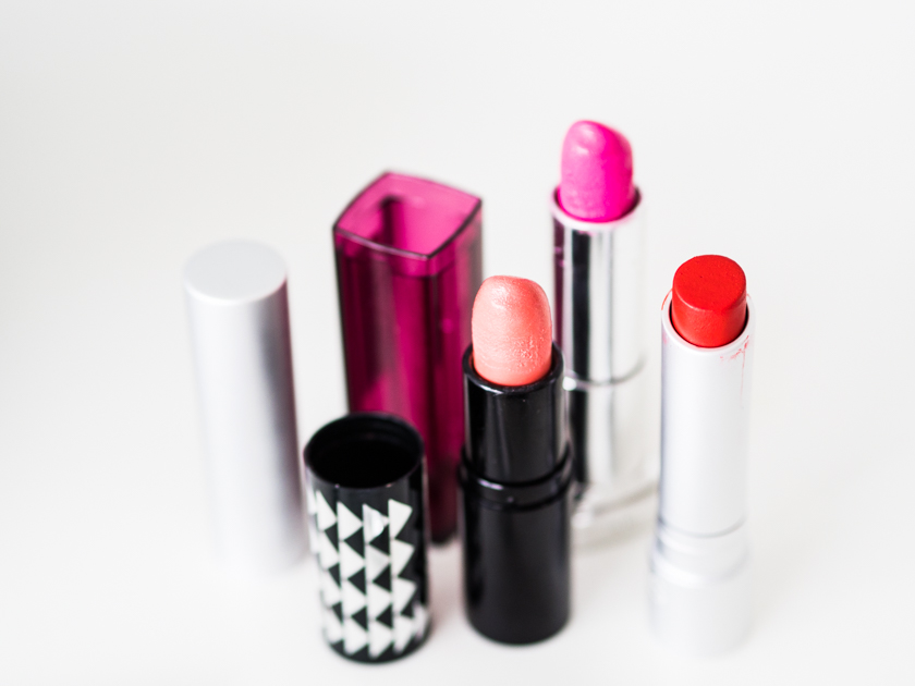 5 Minuten Mama Tages Make up_Lippenstifte