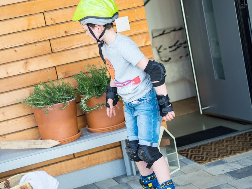 Der Haus Eingangsbereich mit Kindern – über Schmutzschleusen, NO DEKO Ansätze und begrünte Müllbuchten