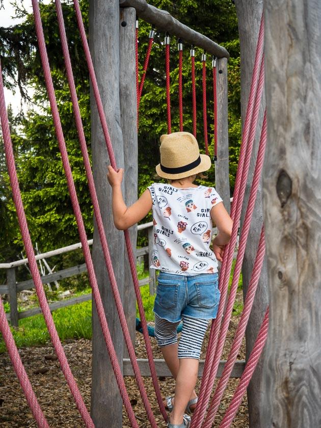 Gasteinertal mit Kindern_Kletter Parcours