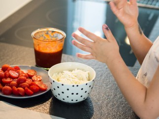 Meal Prep für Familien_Kinder kochen