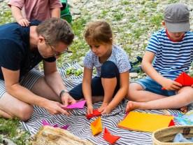 Sommerferien Bucket List_Schifflein falten