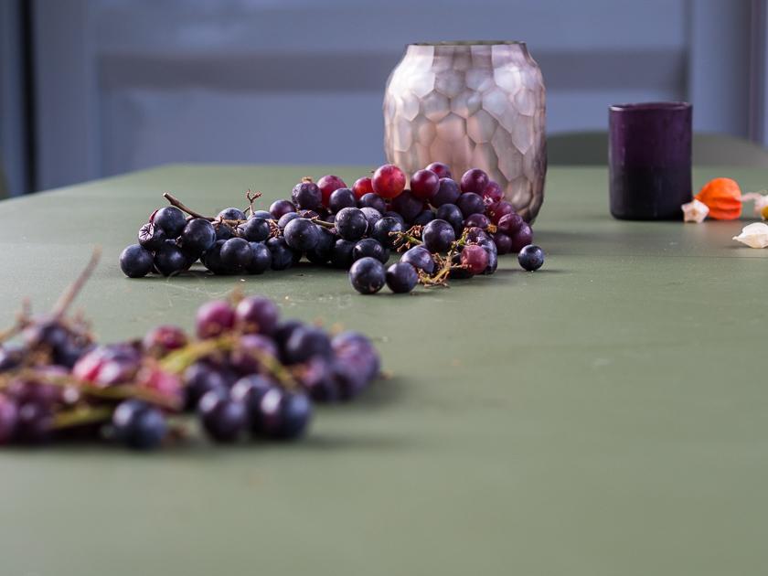 Gartenträume für Familien_Weintrauben