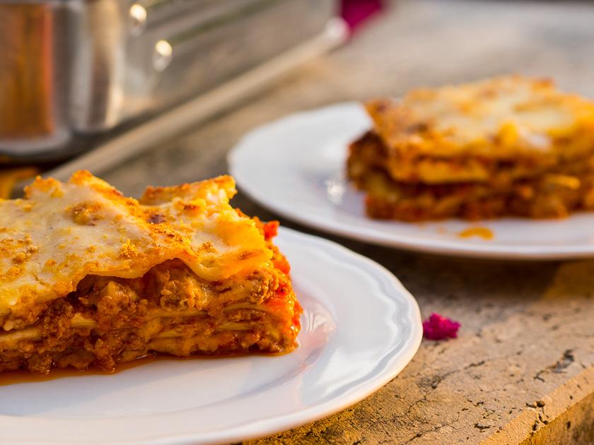 Urlaub am Gardasee mit Kindern_Original Lasagne