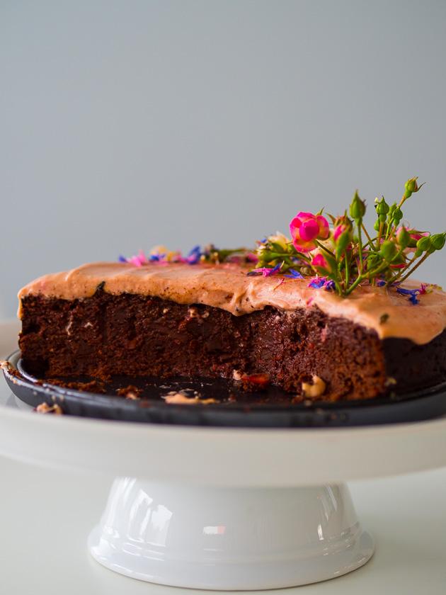 Geburtstagskuchen mit Gemüse_Rote Rüben Torte
