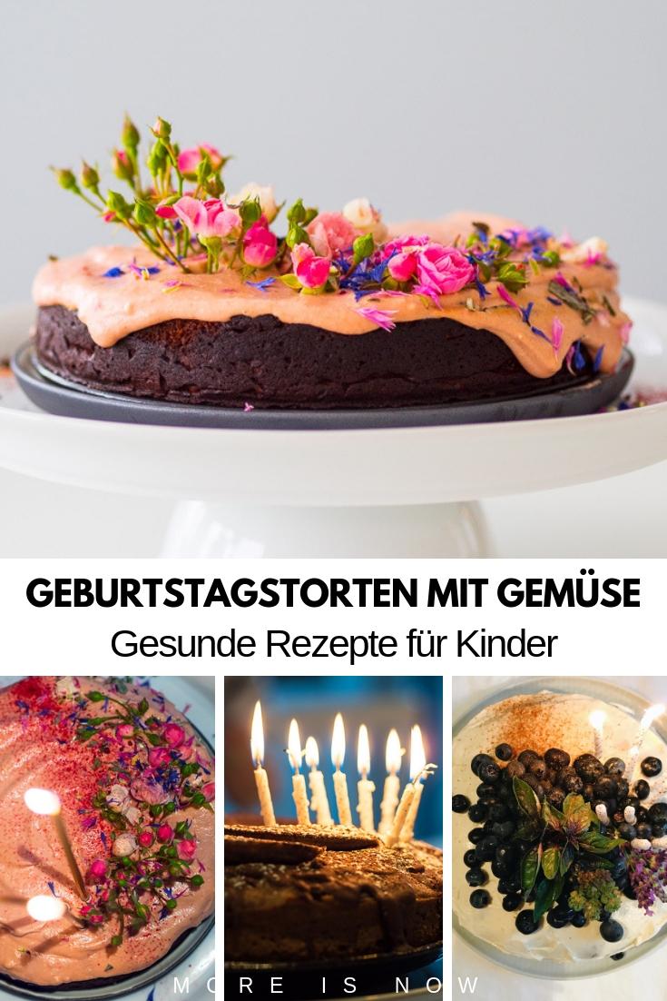 Geburtstagskuchen mit Gemüse_gesund für Kinder