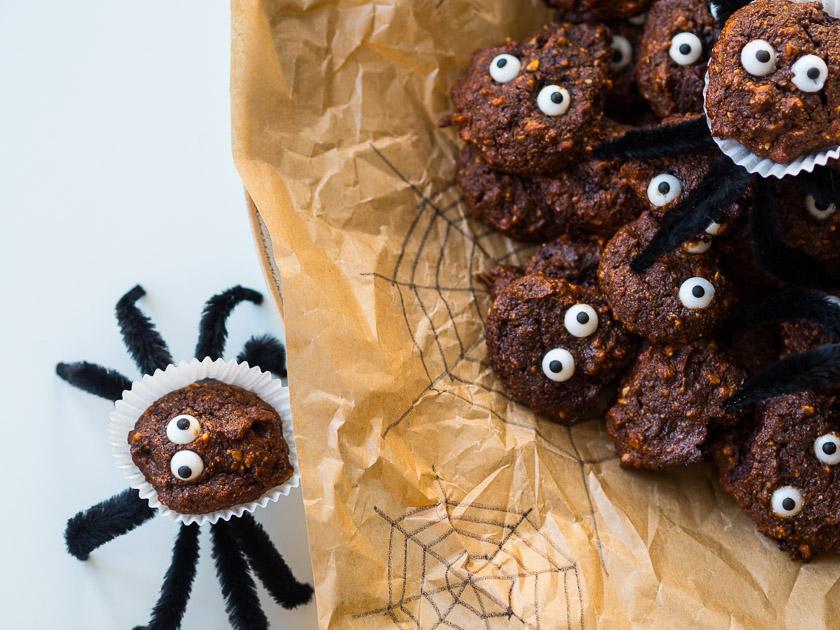 Last Minute Halloween_gesunde Cookies