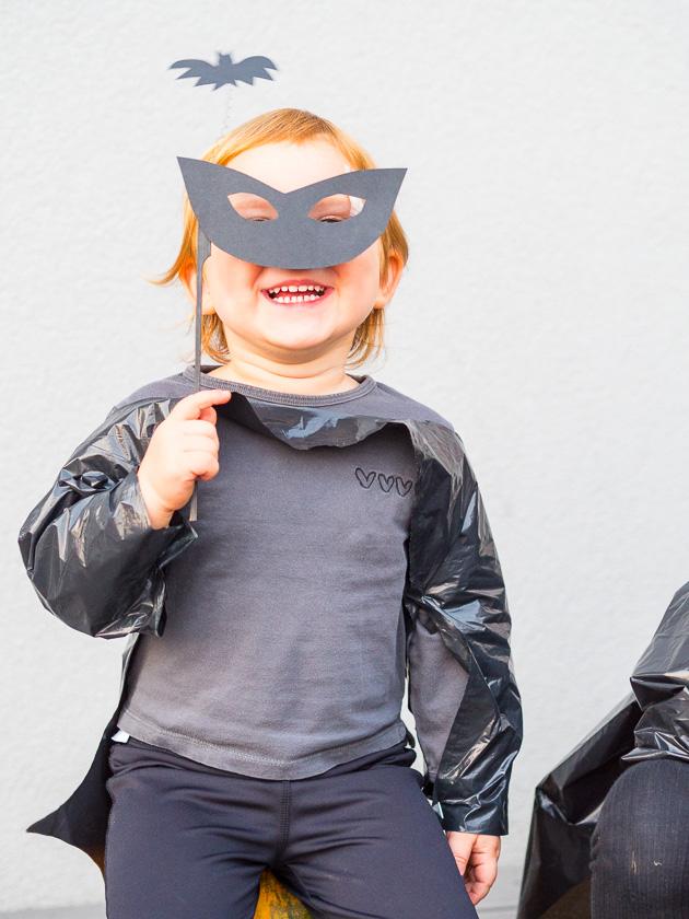 Last Minute Halloween_Fledermaus Maske