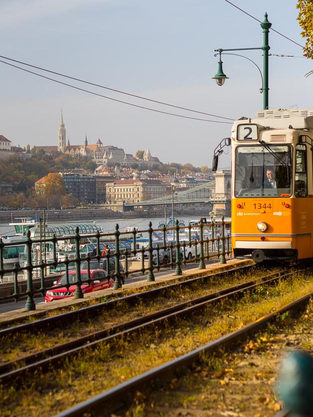 Budapest Guide mit Kindern_Tram Linie 2