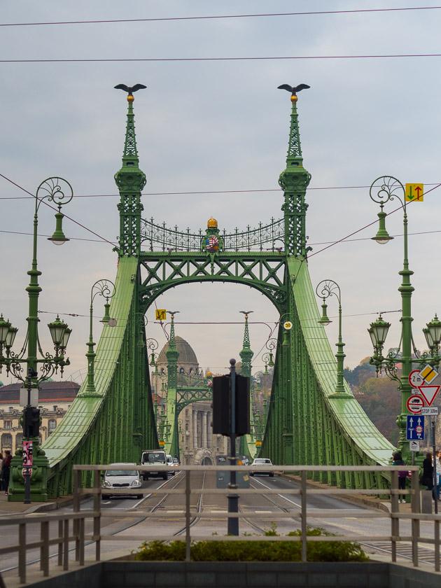 Budapest Guide mit Kindern_Freiheitsbrücke