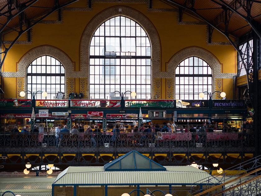 Budapest Guide mit Kindern_große Markthalle