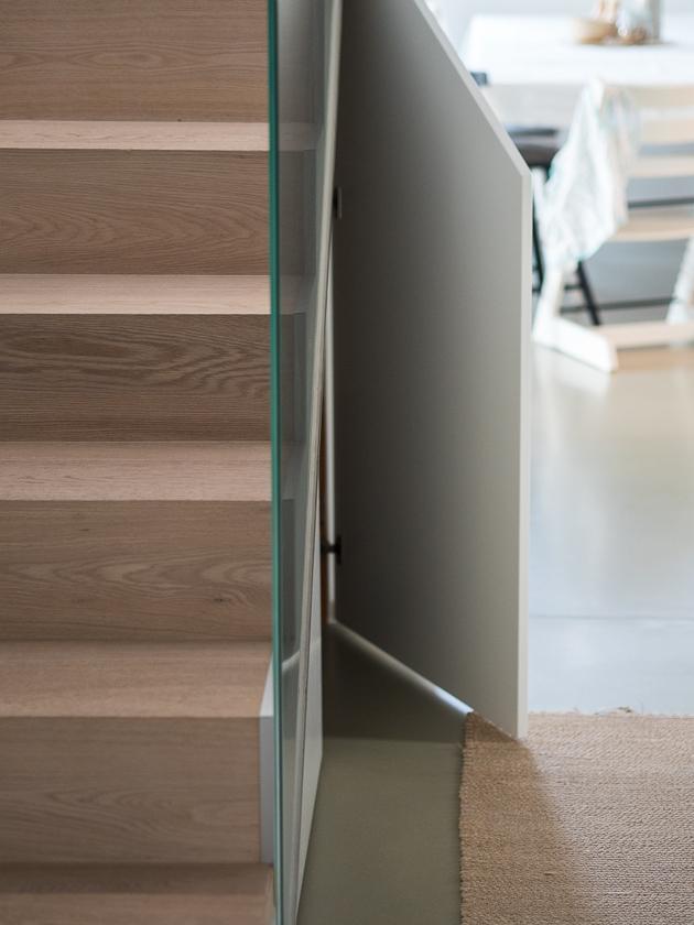 Vorraum Gestaltung für Familien_Hausbau Stiegen Aufgang
