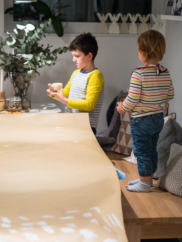 Basteln mit Kindern in der Adventszeit_DIY Weihnachten