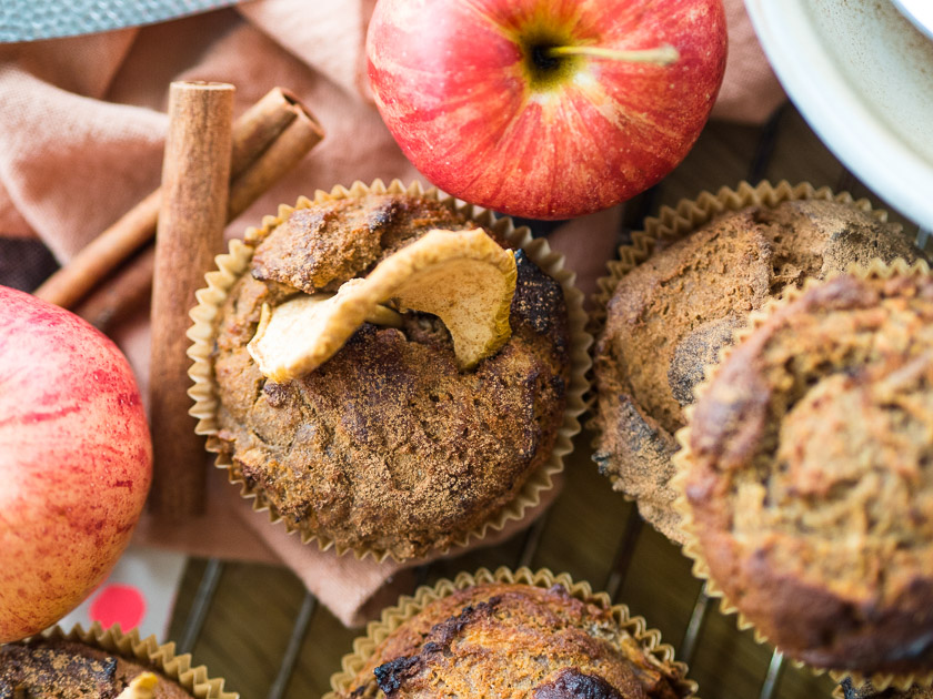 Familien Frühstückstisch_Rezept Apfel Zimt Muffins