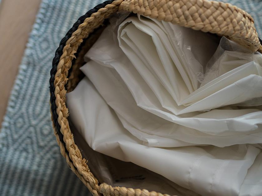 Aufräumen, aussortieren und nachhaltig Ordnung halten_Kleidersack