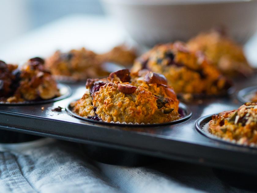 Haferflocken-Muffins gesund_Notfall Backmischung