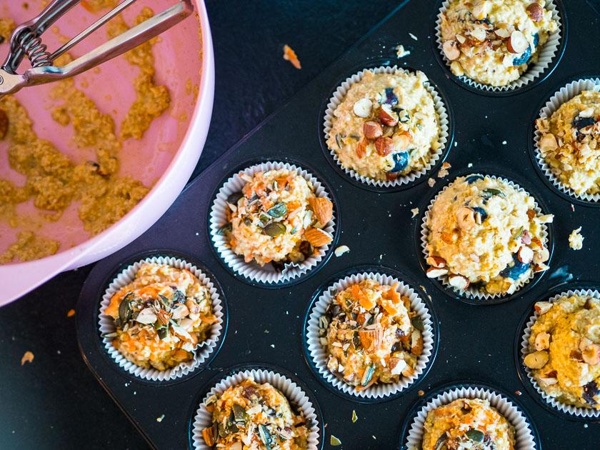 Haferflocken-Muffins gesund_einfach und schnell backen