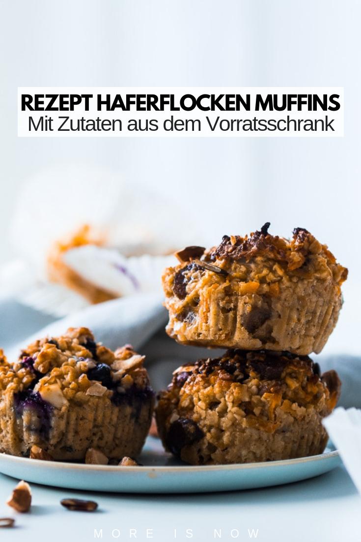 Rezept Haferflocken Muffins