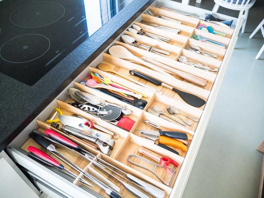 Familien-Küchen-Organisation leicht gemacht_Besteck-Schublade