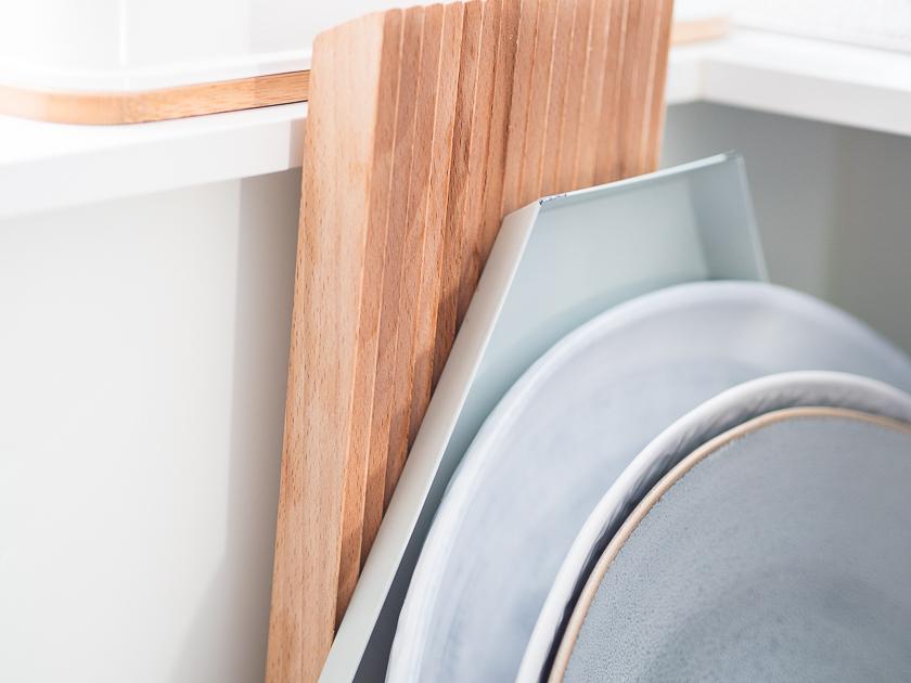 Küchenutensilien für Familien_Bretter Platten
