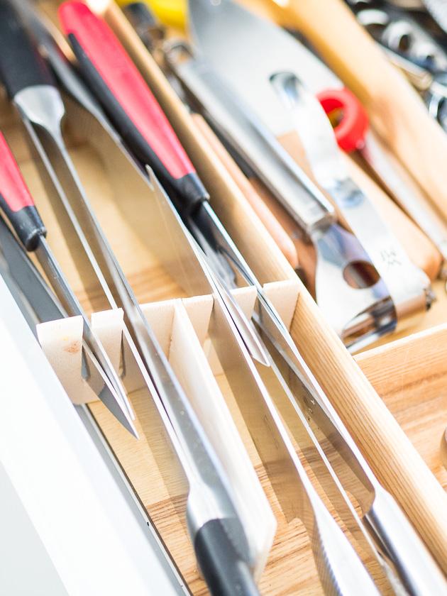 Küchenutensilien für Familien_Küchenmesser Einschub