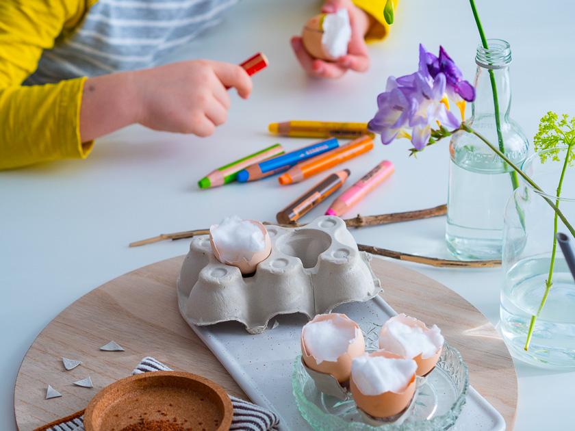 Frühlingserwachen mit Kindern_Kresse-Ei