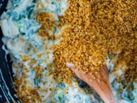 Frühlingsrezept mit Feldsalat