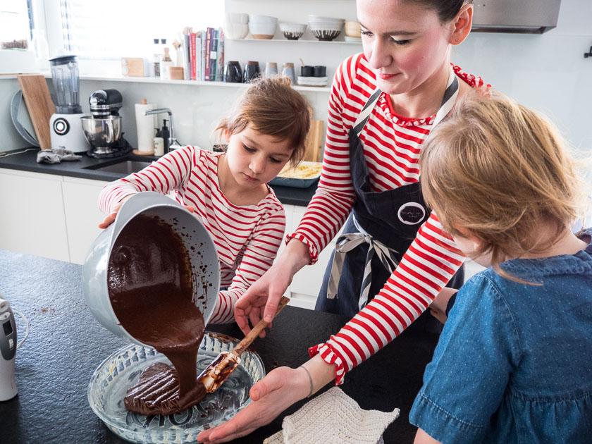 KochEvent Familienküche_Gemeinsam backen