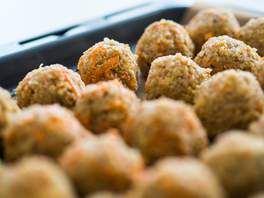 Familien Meal Prep_Rezept Quinoa Karotten Bites