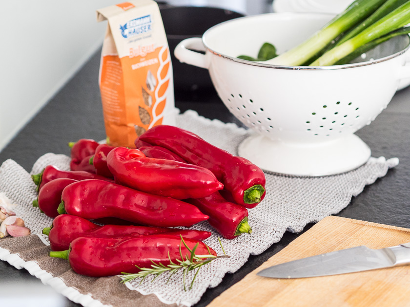 gefüllte Paprika, ein Familienrezept_Spitzpaprika