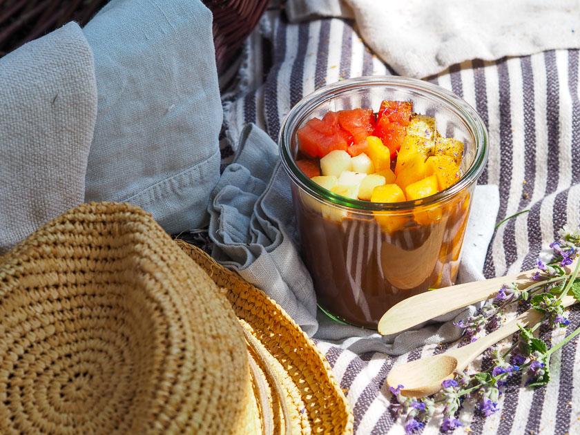 Sommer Rezepte fürs Freibad_Schokoladen Fondue
