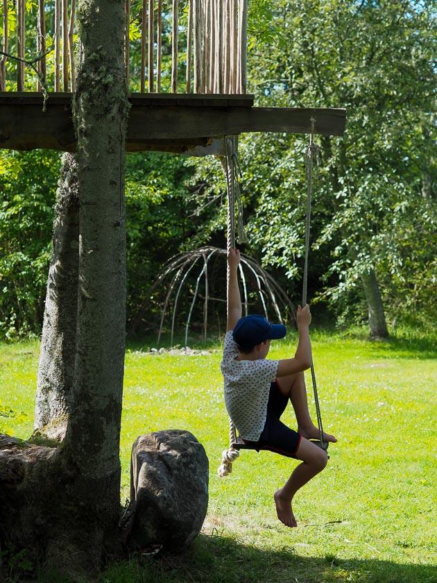 Südschweden mit Kindern_Baumhaus Hotel