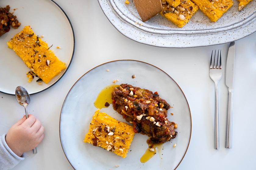 Schnelle More is Now Familienküche für jeden Tag Caponata