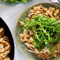 Rezept Birnen-Topfenspätzle. Schnelle More is Now Familienküche für jeden Tag